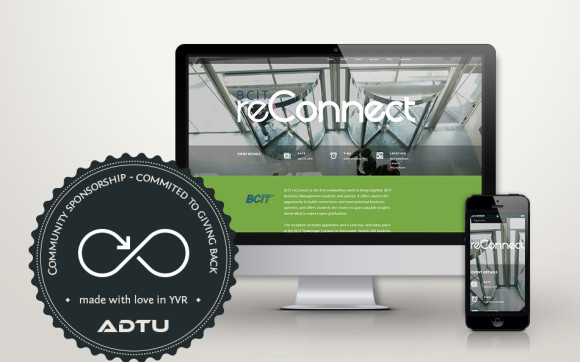 BCIT reConnect Website